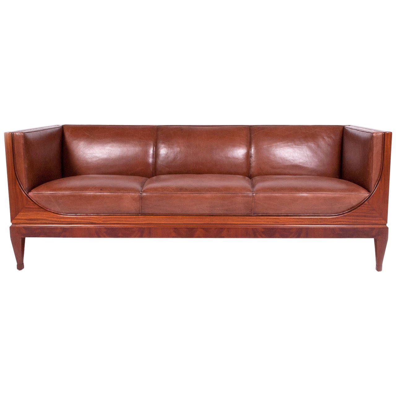 Clic Sofa By Frits Henningsen 1930s