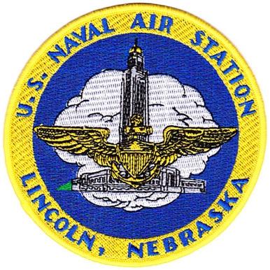 Naval Air Station Lincoln Nebraska Patch Naval Military Patch Nebraska