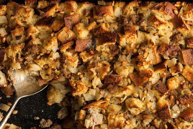 Italian Fennel And Turkey Sausage Stuffing Recipe In 2018