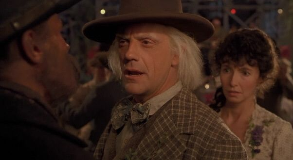 Dr Emmett Brown Back To The Future Part 1 3 Robert Zemeckis