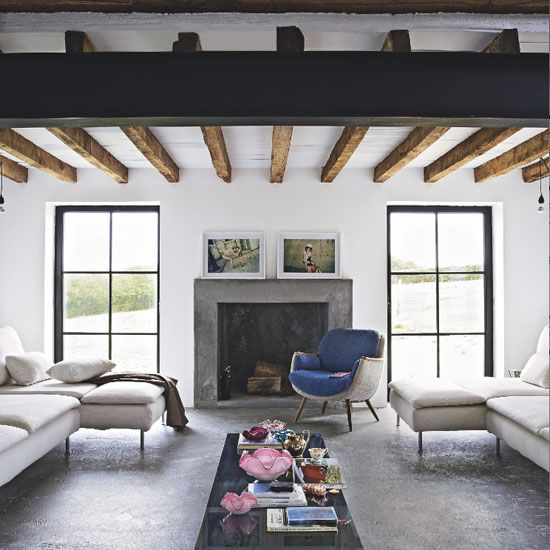 Rough luxe in the country