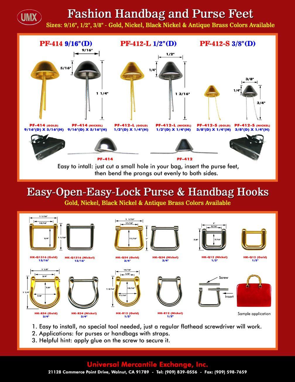 UMX Catalogues - Stylish Fashion Purse and Handbag Hardware