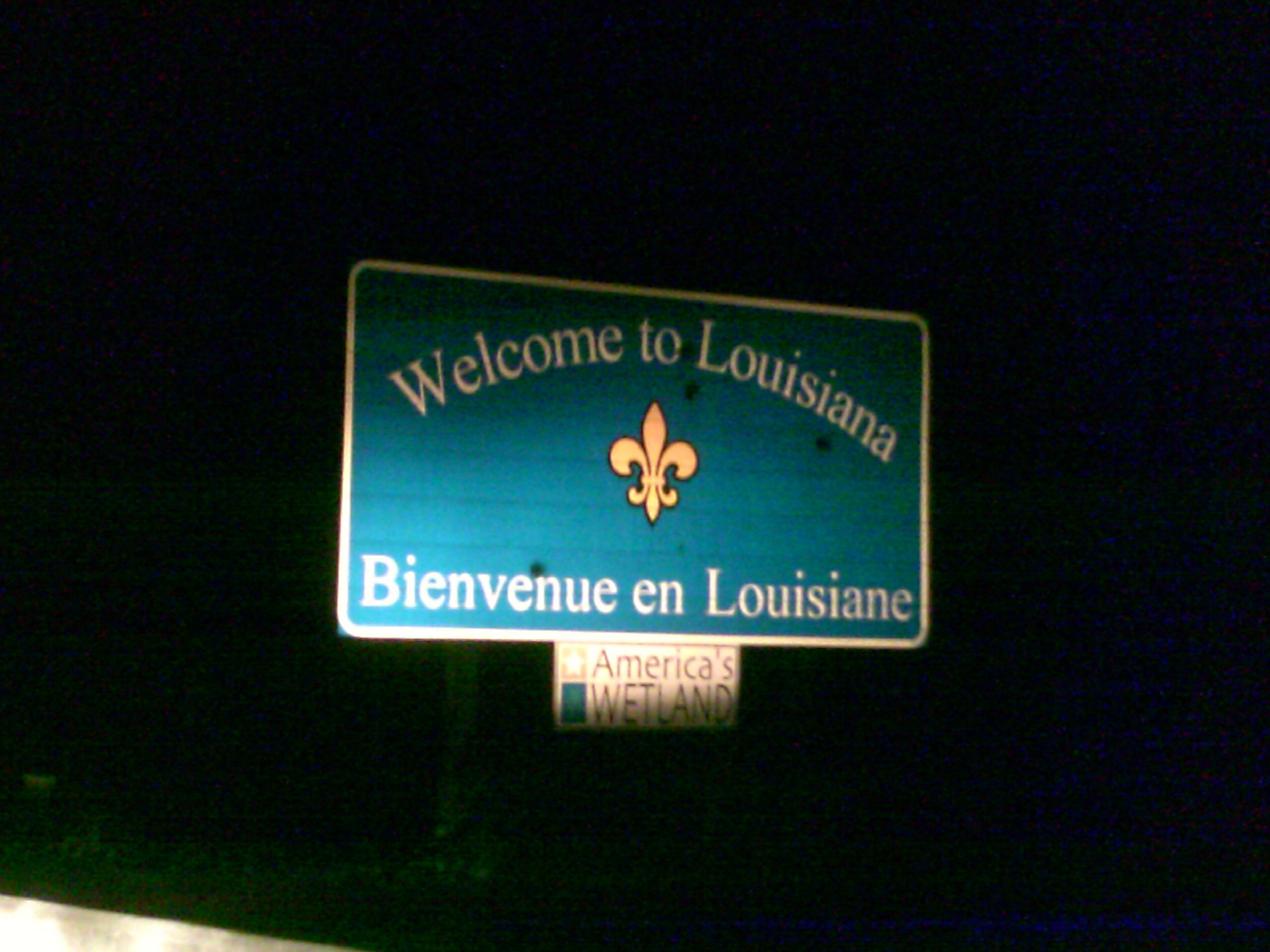Welcome to Louisiana, Home of Derrida, Lake Charles, New Orleans ...