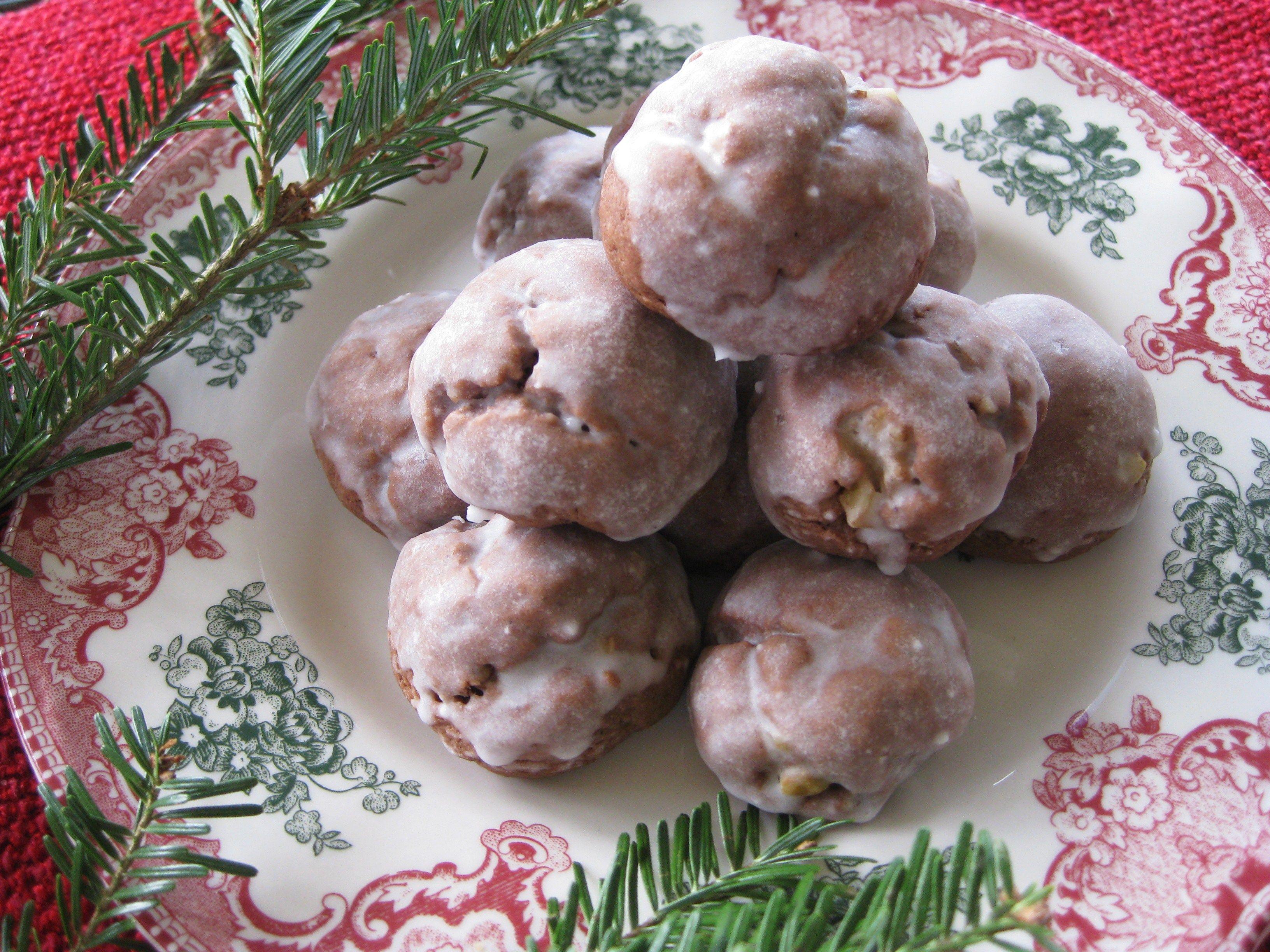 italian christmas cookies struffoli
