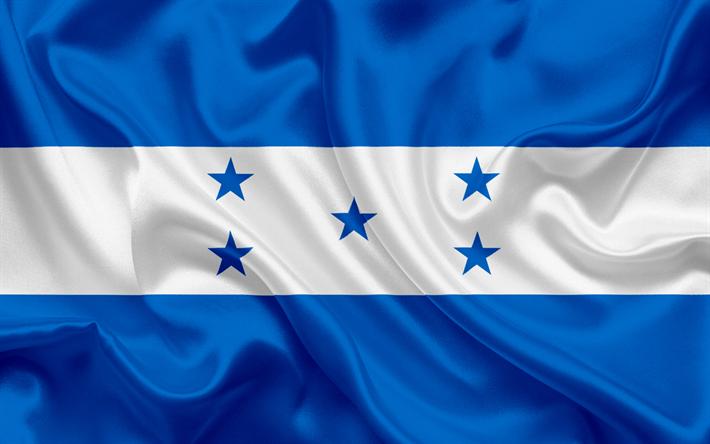 Download Wallpapers Honduran Flag Honduras Central America Flag Of Honduras National Flag Besthqwallpapers Com Honduras Flag Honduran Flag Flag