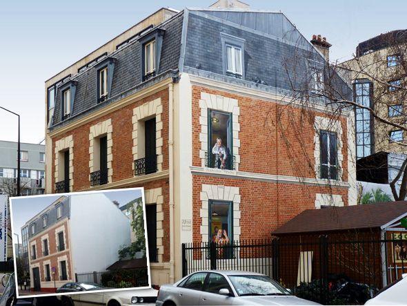 Peindre de façon créative et artistique les façades décrépies d