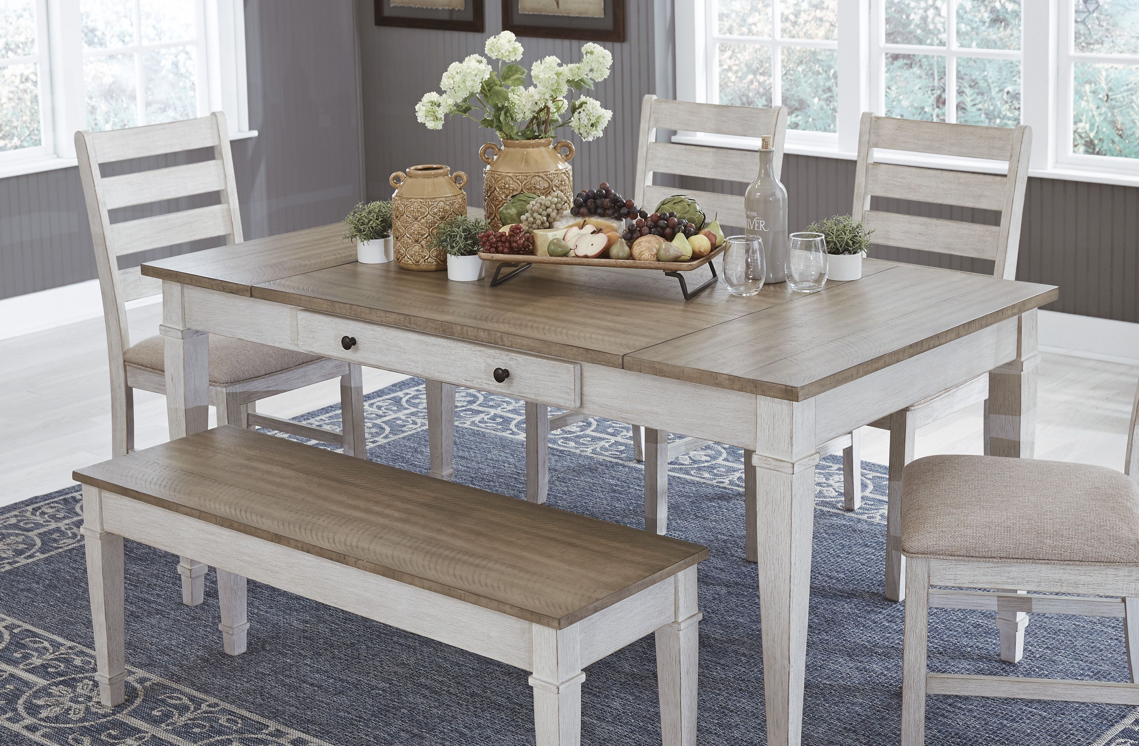 Set The Scene For Coastal Chic Or Modern Farmhouse Living With The