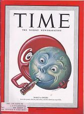 TIME - The Weekly Magazine May 15, 1950 - World & Friend * Coca Cola (MT)