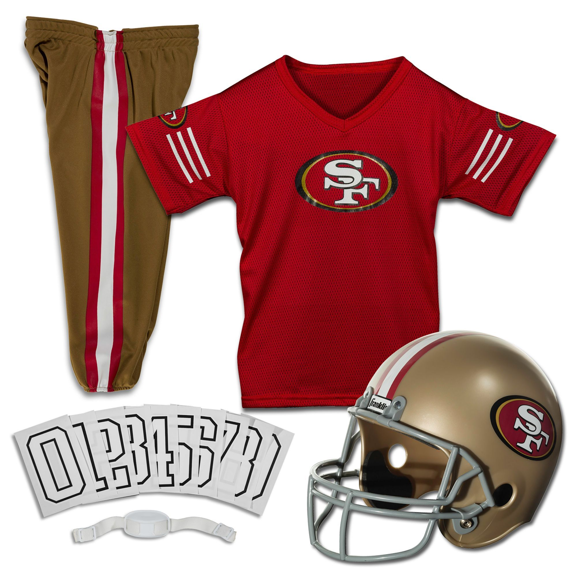 b746cd4d Franklin San Francisco 49ers Youth Deluxe Uniform Set in 2019 ...