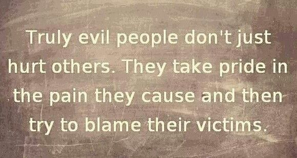 This Is Perfect In So Many Ways. The Evil In People Will