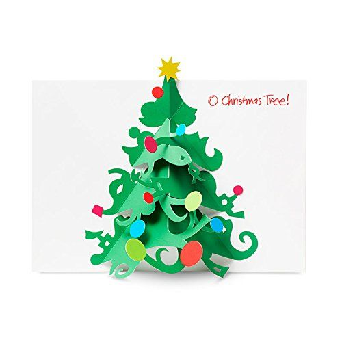 David A Carter O Christmas Tree Boxed Holiday Cards MoMA   www