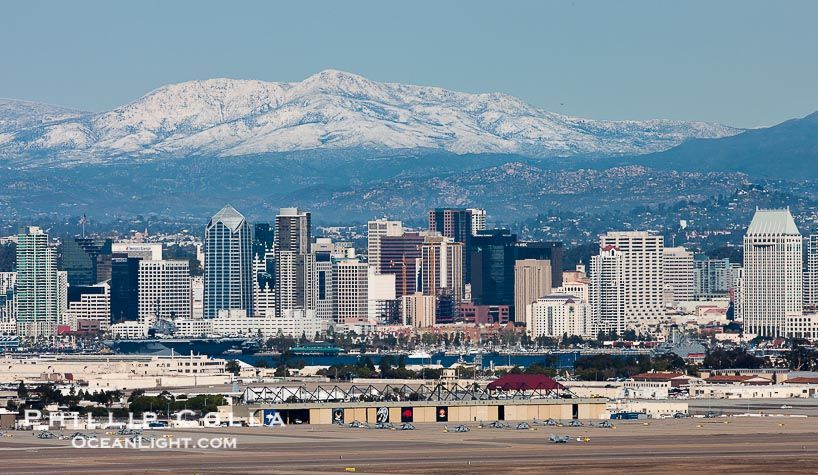 I'd always heard that it had snowed once in San Diego, it ...