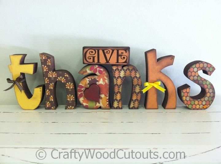 Give thanks unfinished wood craft from crafty wood cutouts give thanks unfinished wood craft from crafty wood cutouts sciox Images