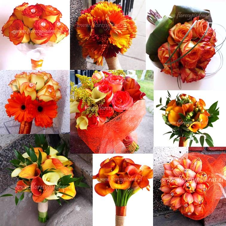 Ramos de Novia modelos de Flores y Piedras www.floresypiedras.cl