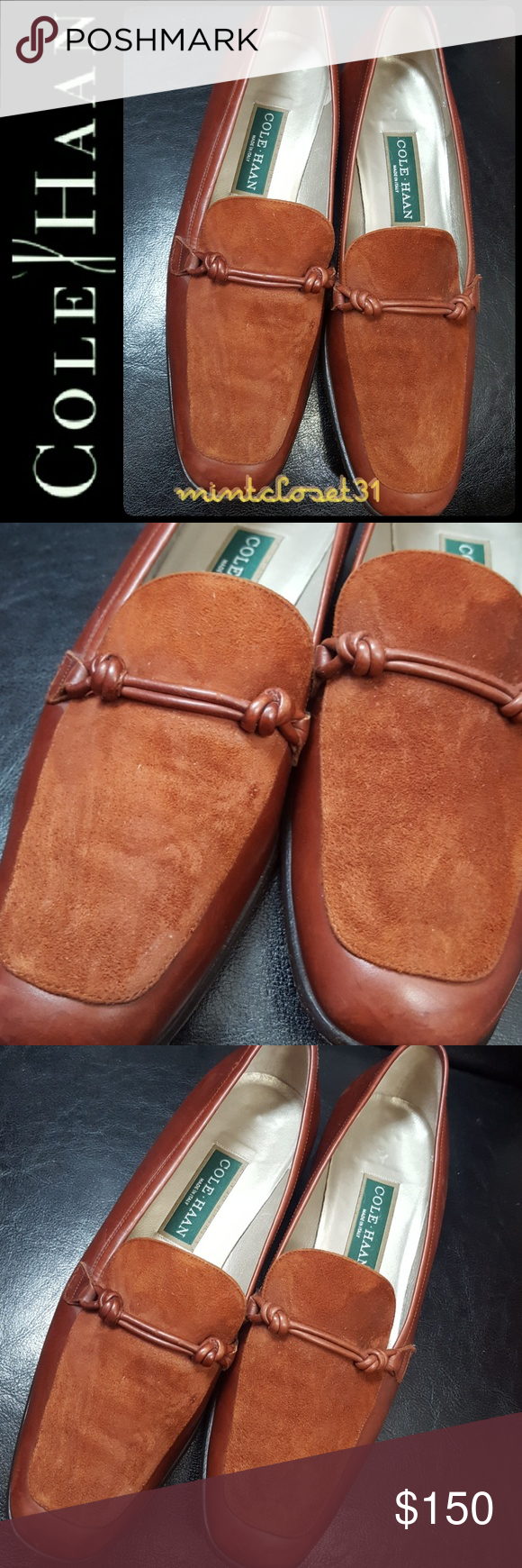 Leather loafers, Cole haan shoes