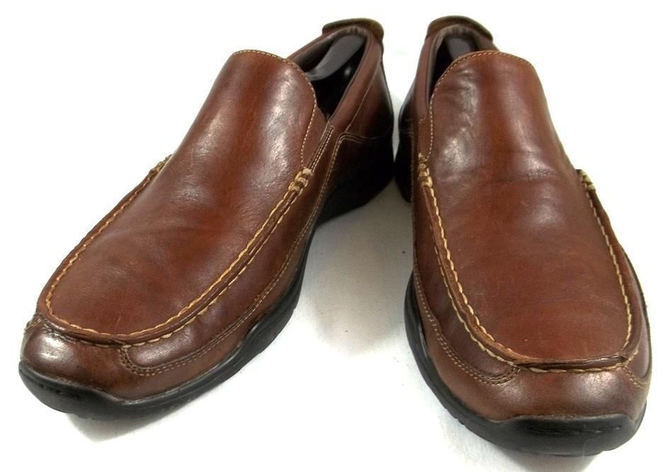 Cole Haan Nike Air Loafers Solid Brown