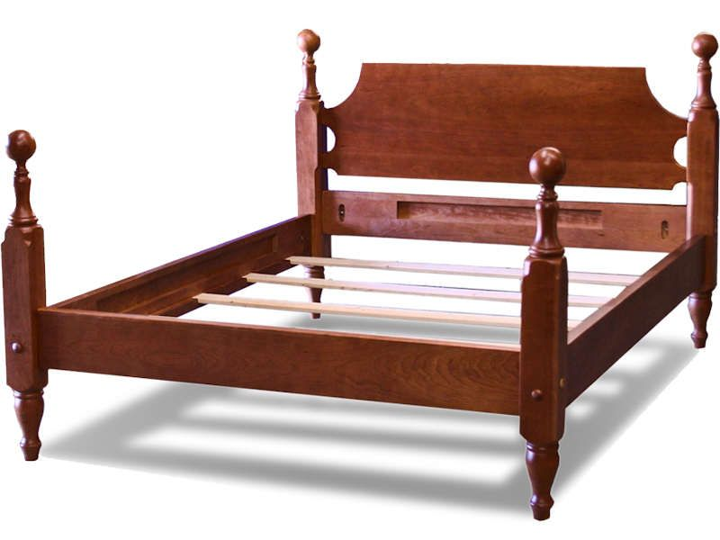 Cherry Cannonball Bed Cannonball Bed Bed Traditional Bed