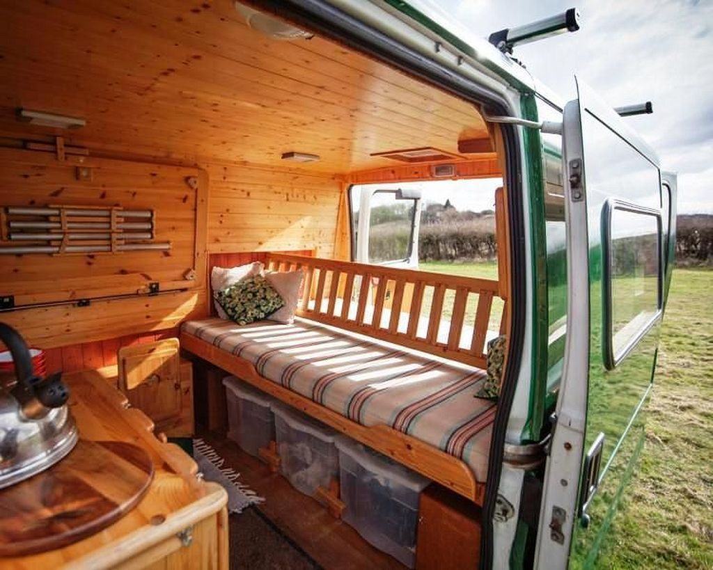 Campervan Bed Design Ideas 87
