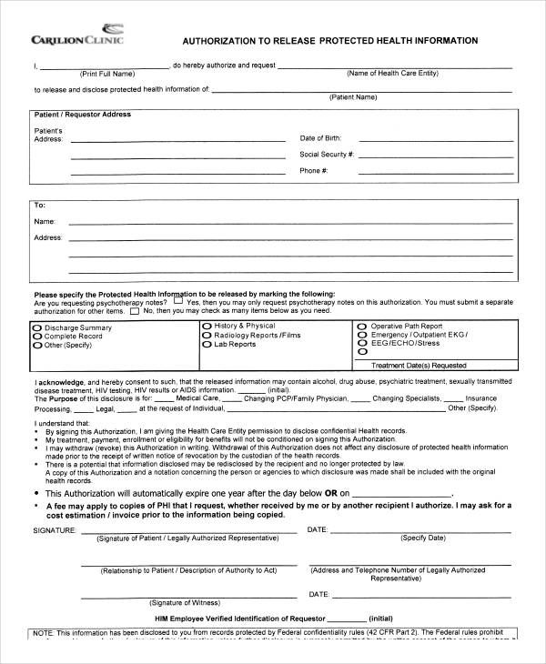 12 release authorization form sles free sles exles format News to - social security request form