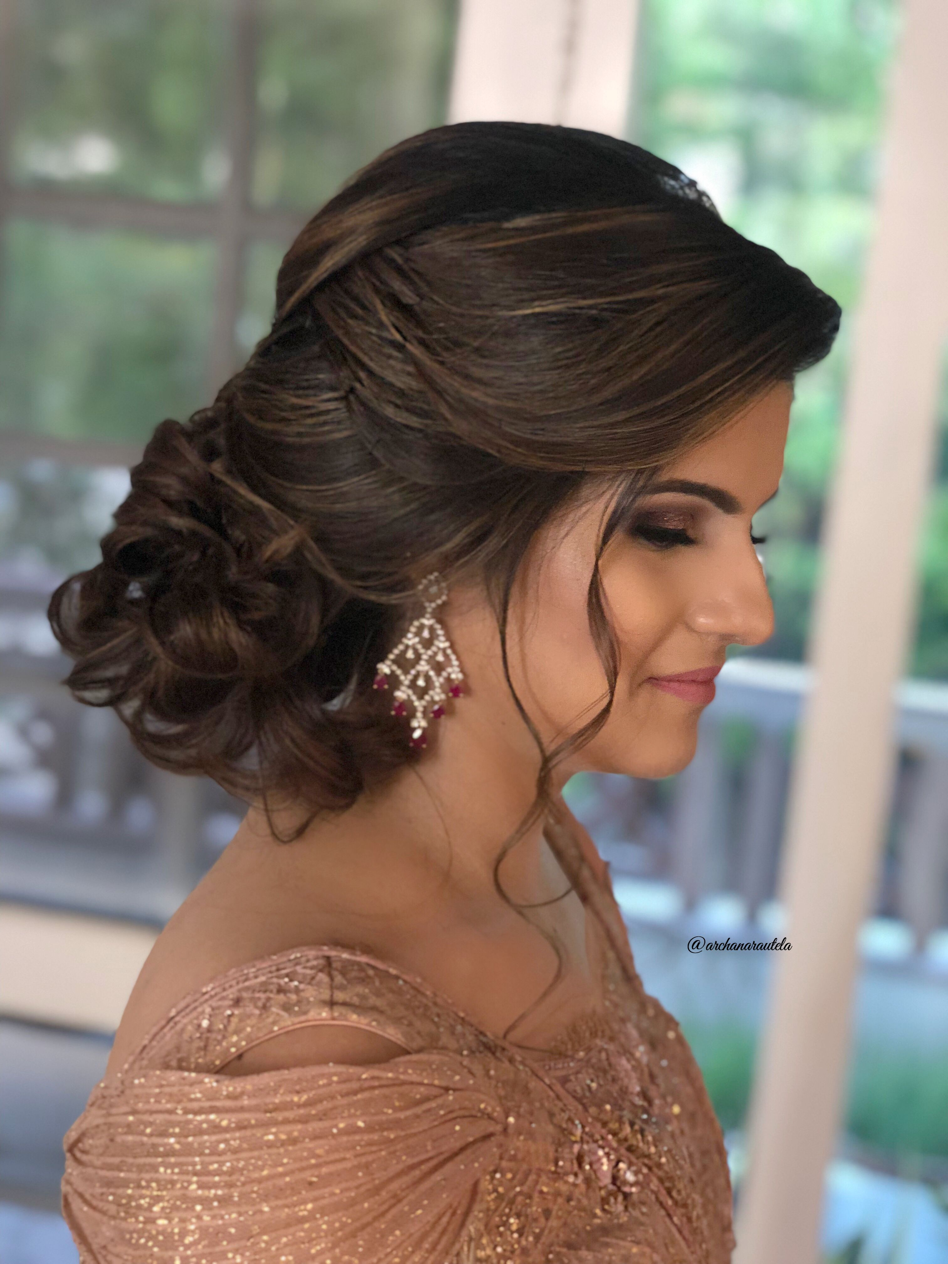 elegance 🌟⭐💋💋⭐🌟 hairdo softly tied #archanarautelahair