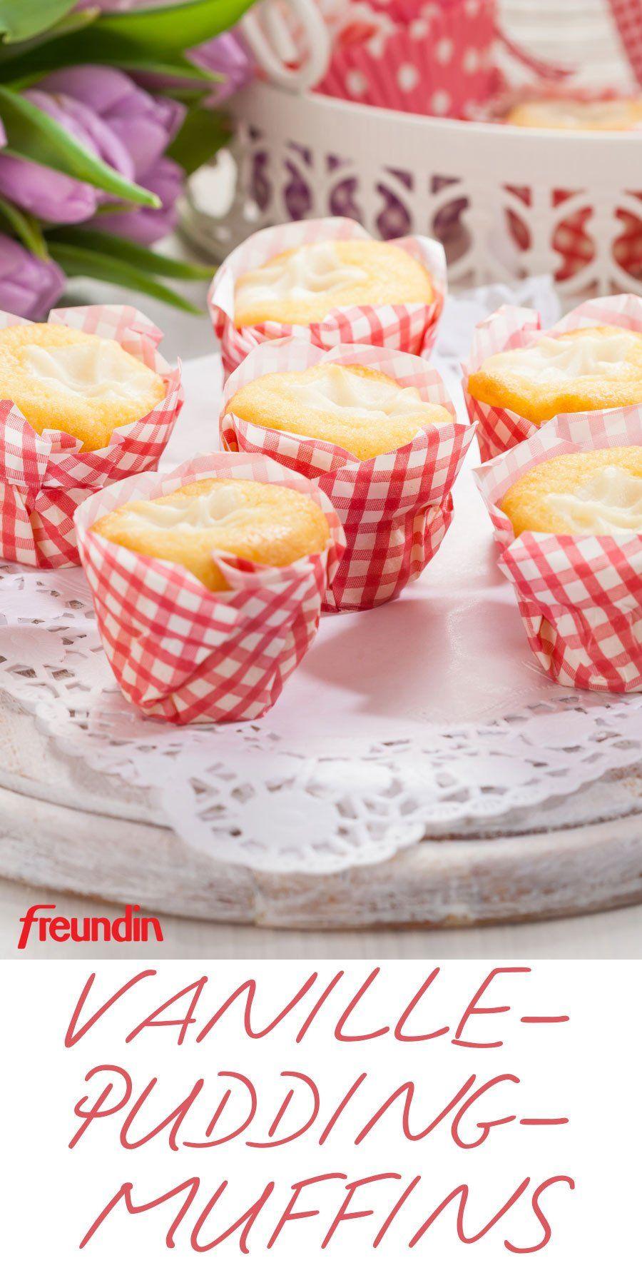 Wochenend-Rezept: Muffins mit Vanillepudding | freundin.de