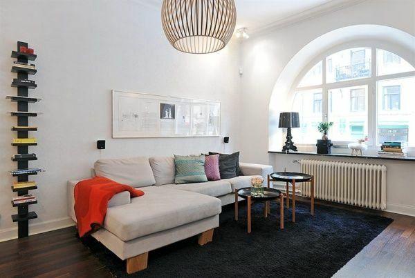 Salon Moderne De Design Scandinave Design Scandinave: 40 Salons Avec  Décoration Scandinave