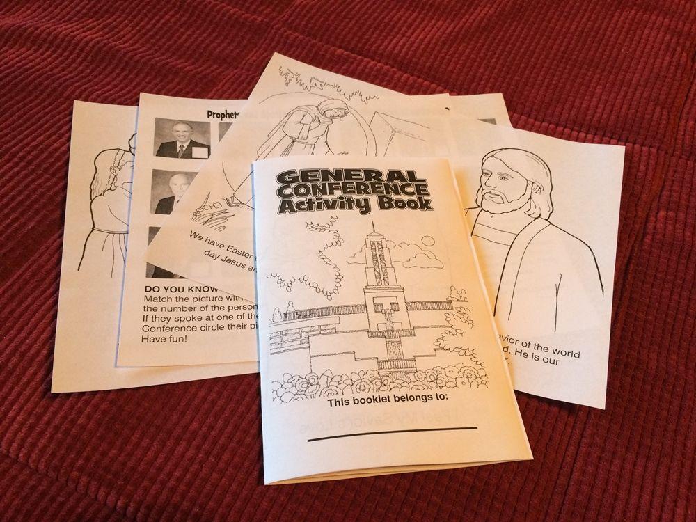 General Conference Workbook General conference