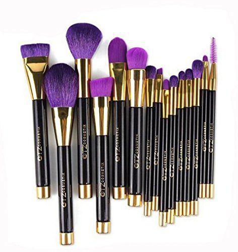 Amazon Com Terrece Tz 15 Piece Makeup Brush Kit With Bag And