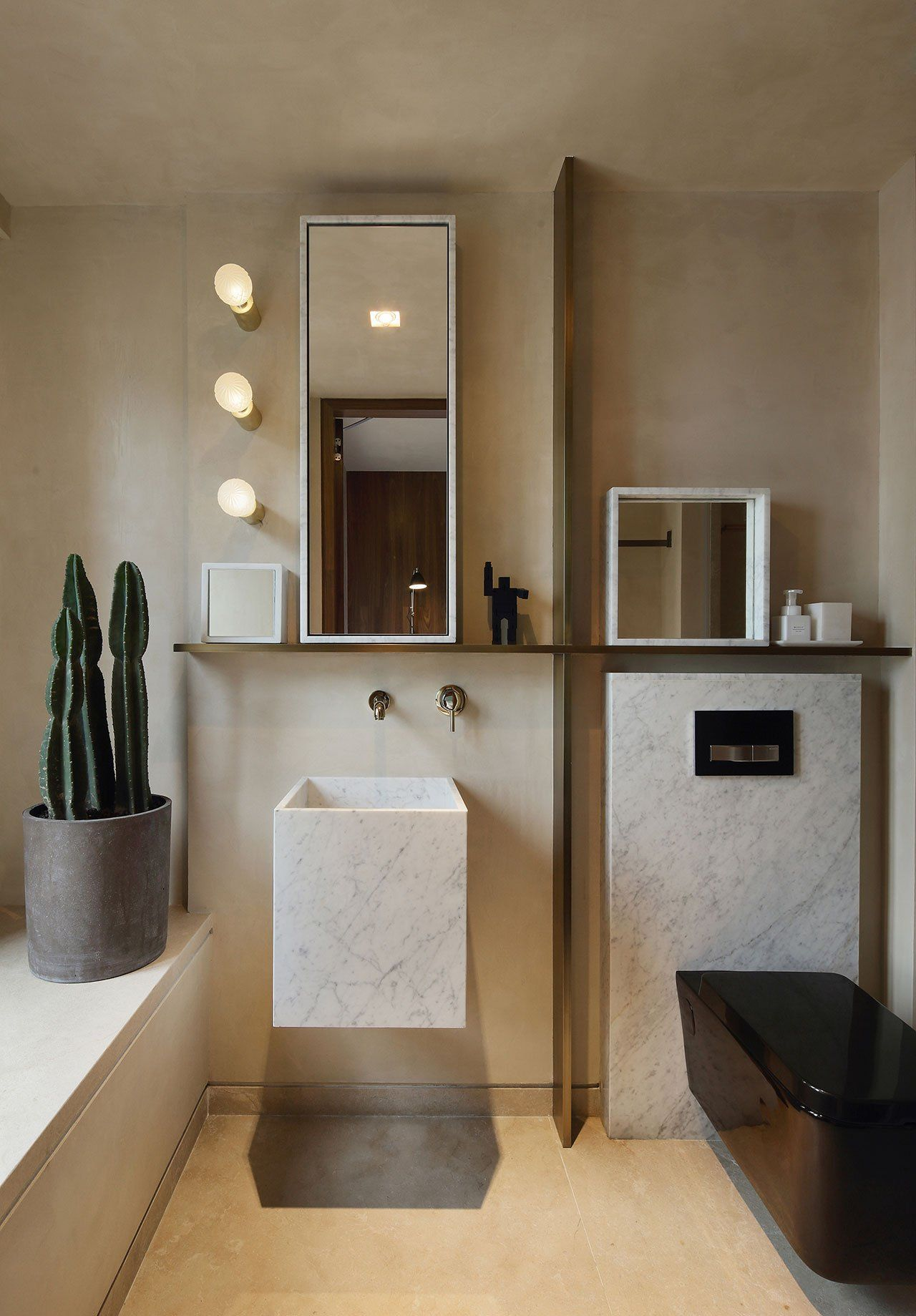 Aesthetic Modern Bathroom Interior Design Idas For Wall Art Small Bathroom Makeover Bathroom Design Small Bathroom Interior Design