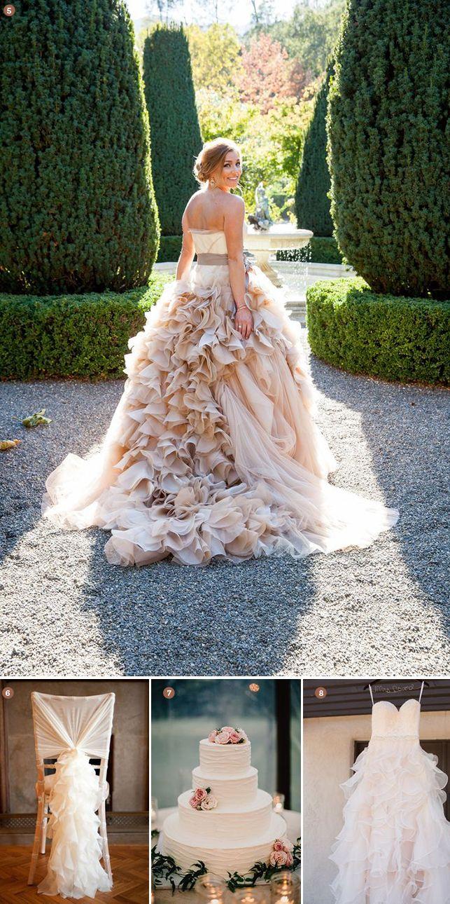 Finishing Touches 8 Wedding Day Ruffle Ideas