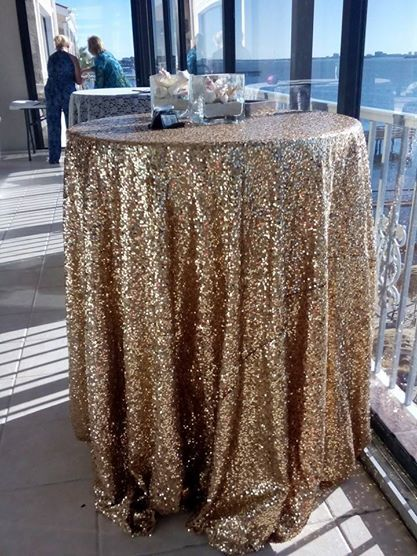 This Gold Sequin Table Cloth Is Gorgeous Just Imagine Cocktail