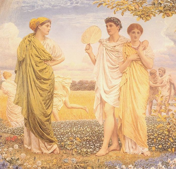 Albert Joseph Moore 1841-1893 | British Classical painter
