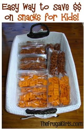 How to Save Money on Snacks for the Kids