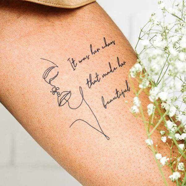 Chaos Tattoo - Semi-Permanent Tattoos by inkbox™