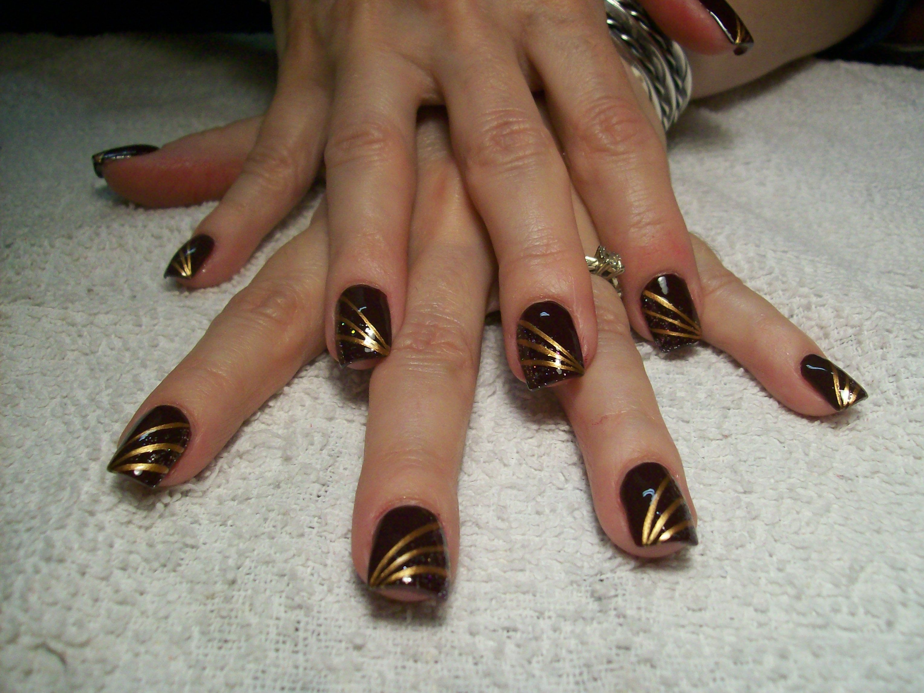 Nail Art, Free-Hand by Penny Brown, NM ~  Miss PammieSue