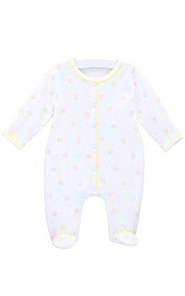 Unisex Footed Coverall, Kids Clothes at Le Top