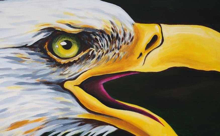 Eagle in arts