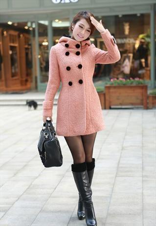 pink coats, coats and jackets for women, winter coat, long coat ...