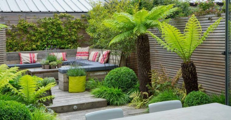 Décoration jardin terrasse en 25 exemples modernes | Gardens