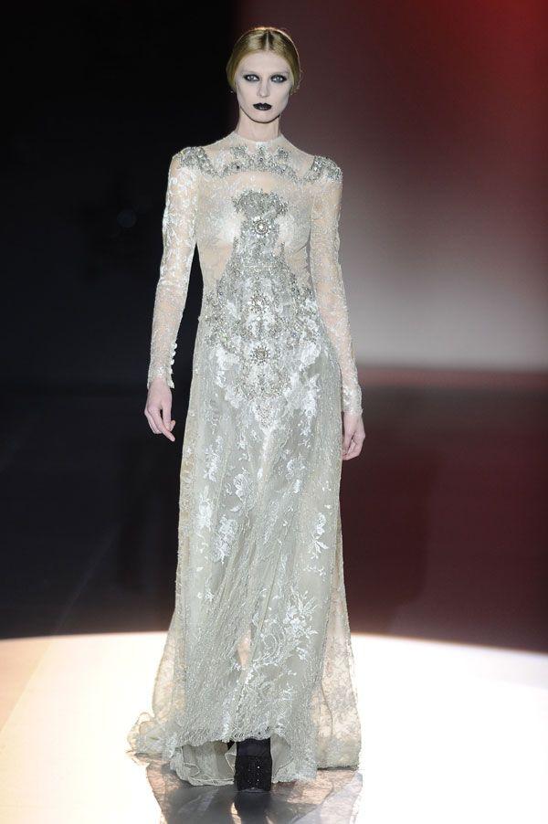 Vestidos de novia de Mercedes Benz Fashion Week Madrid #boda #vestidos