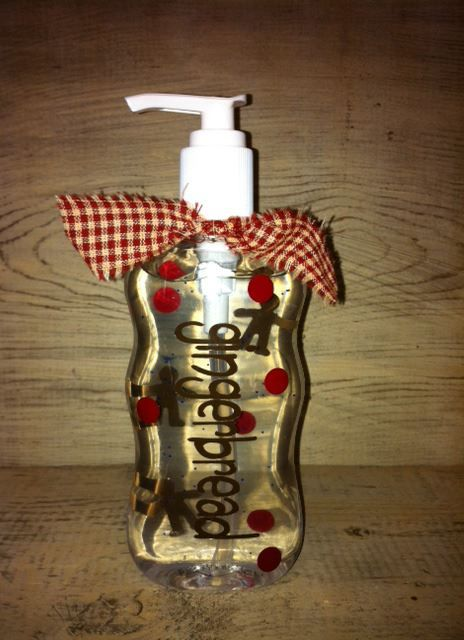 Primitive Gingerbread Hand Sanitizer Hand Sanitizer Soap