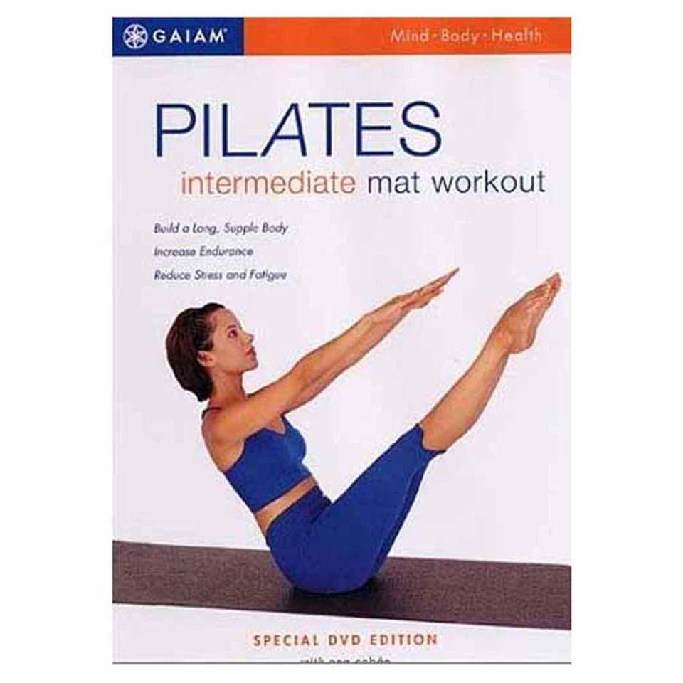 DVD Pilates Intermediate Mat Workout