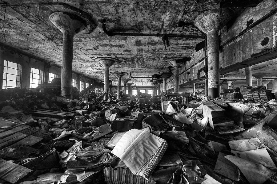 Book Depository, Detroit, Michigan by Timothy Neesam, via 500px
