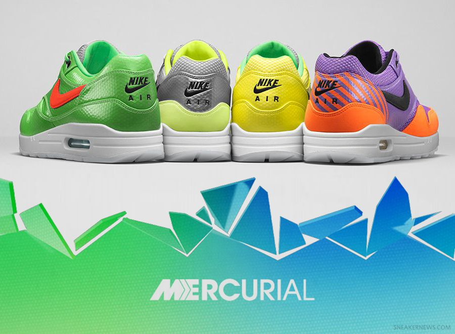 Mercurial Rising: Classic Nike Football Boots Lifted by Air Max