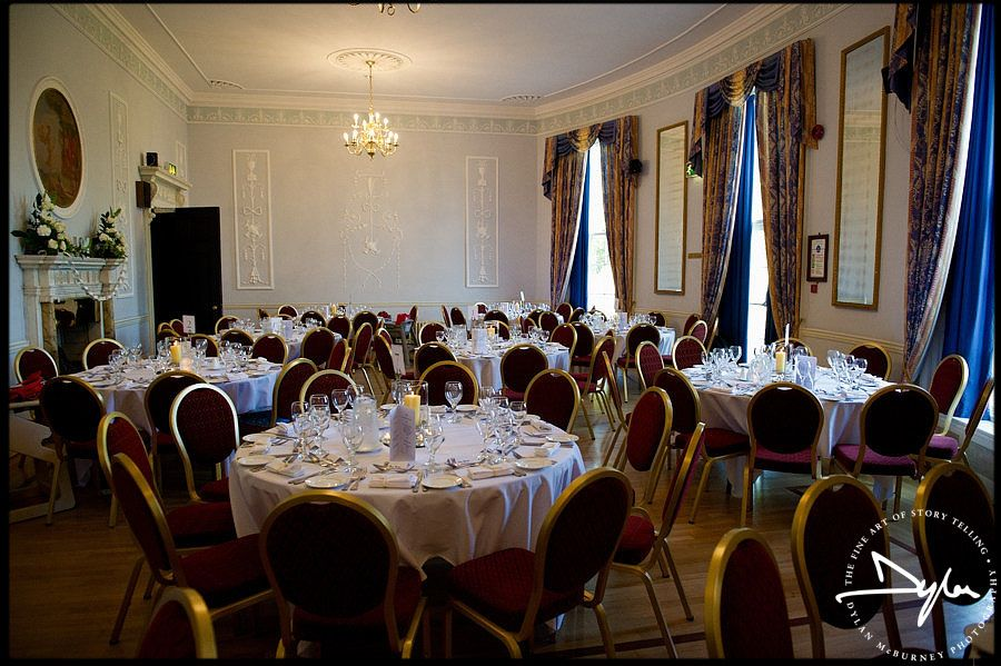 Lovely Wedding Reception At Malone House In Belfast Malone House