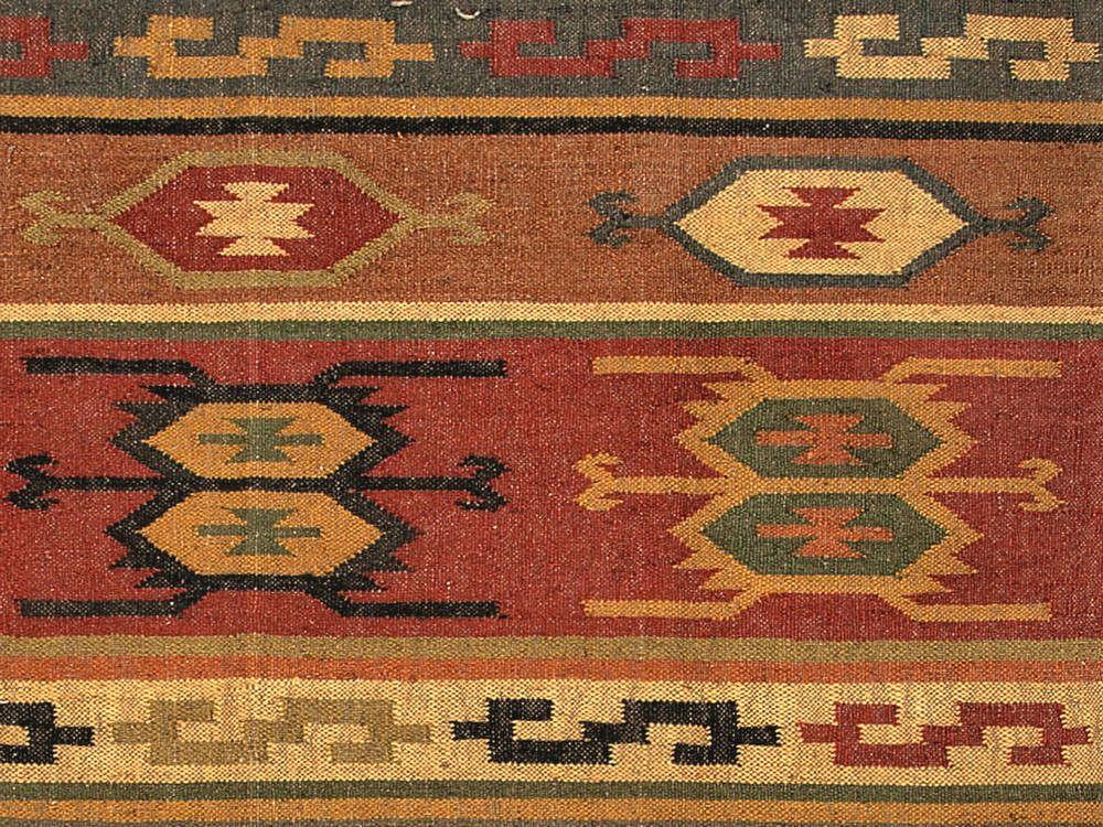 Jaipur Rugs Flat Weave Tribal Pattern Multi Color Hemp And Jute Handmade Rug On Online