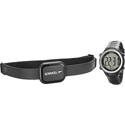 Monitor Cardíaco Speedo 66001G0EMNP1 Preto Digital com Relógio
