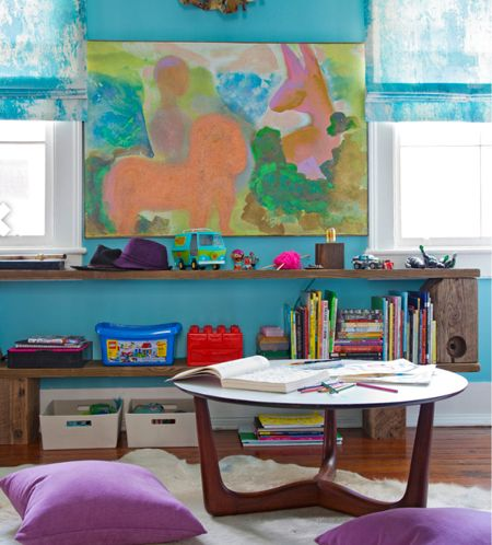 In This Childrenu0027s Room, Featuring A Mid Century Modern Kids Table From  Room U0026 Board
