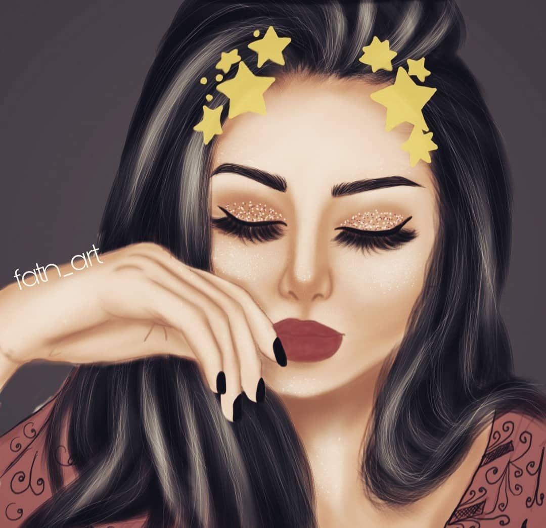 رسمتي الجديده لفو الشاشه رسامين رسمتي تصويري تصميمي ع Dessin Personnage Photo Profil Personnage
