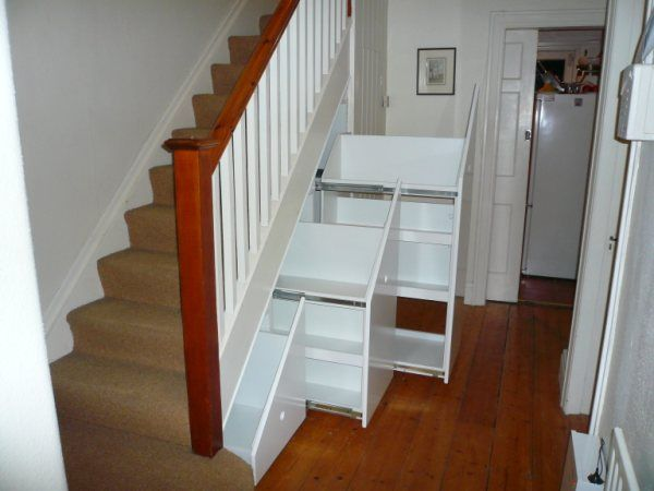 Under Stairs Storage Systems   Under Stair Space Solutions From Bneatstairs